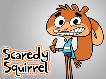 Scaredy Squirrel - Home