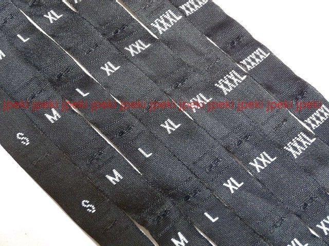 32e2f9d29e61 Details about 500 Pcs White Woven Clothing Letter Size Tag Labels Xs ...