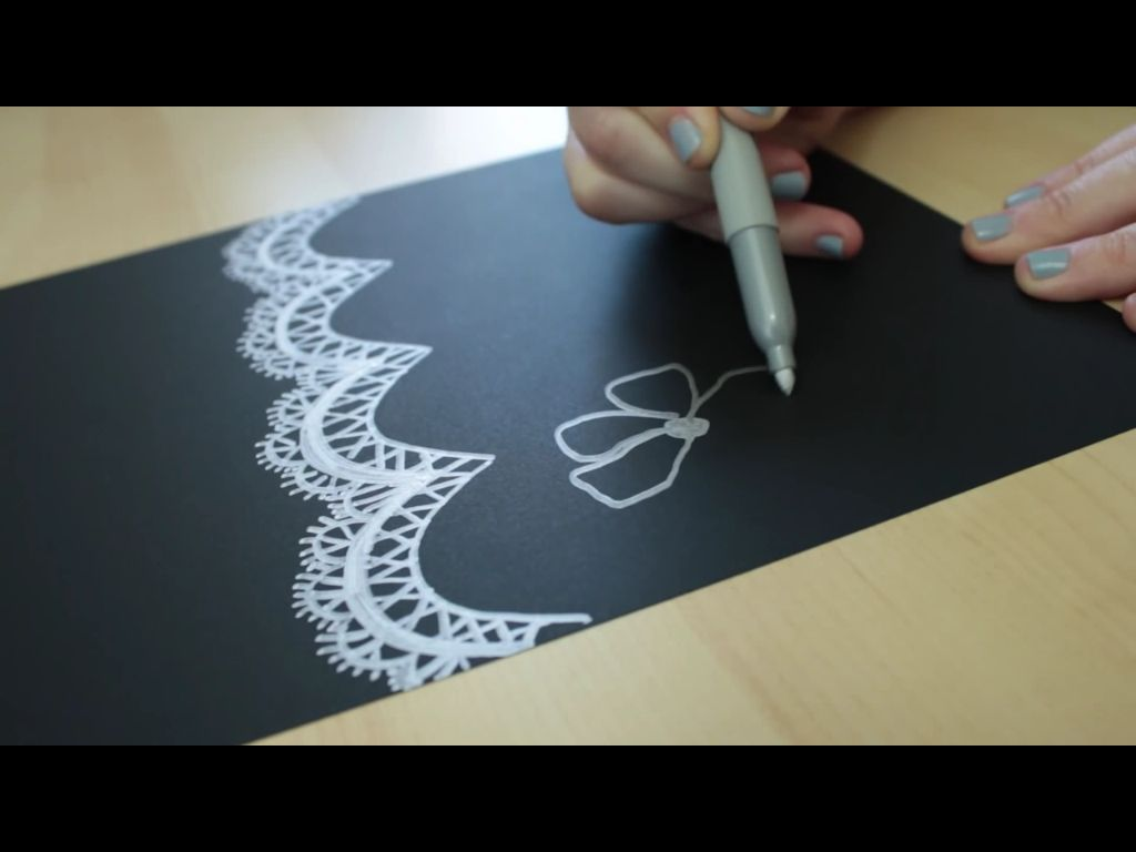 lace drawing pattern - photo #37