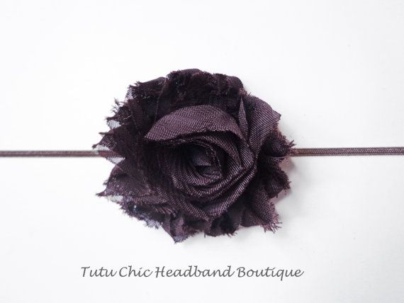Brown Headband: baby headbands, newborn headband, infant headband, toddler headband, childrens headband