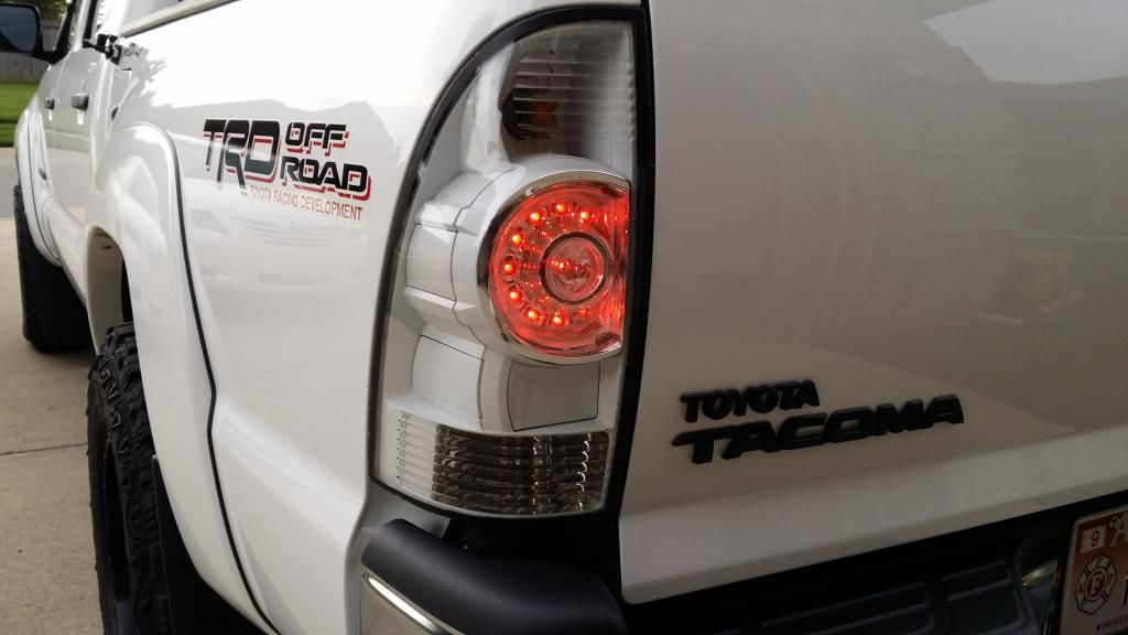 White Taillight Mod Completed Page 7 Tacoma World Forums