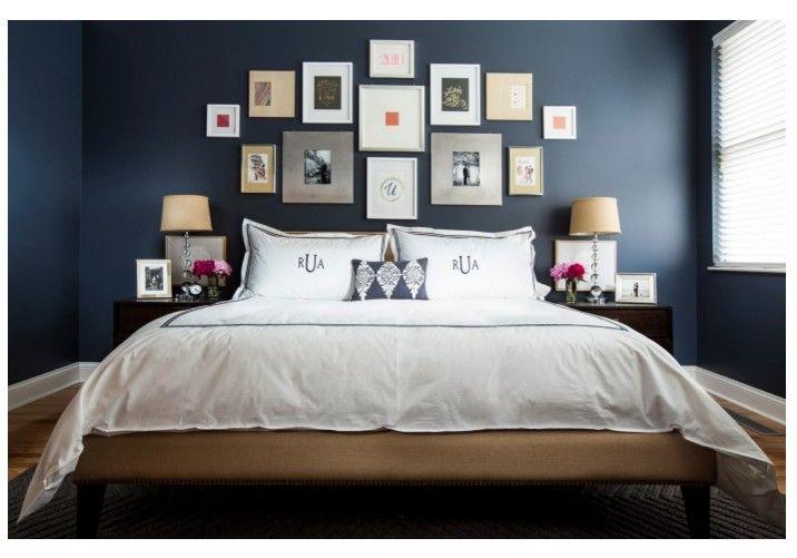 12 idées pour une décoration de chambre en bleu marine | 100% Bleu ...