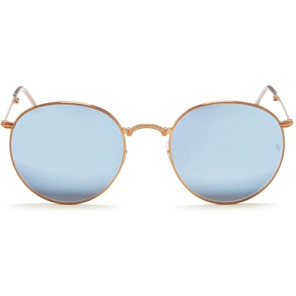 028227d6a0 Ray-Ban  Round Metal Folding  mirror sunglasses (4