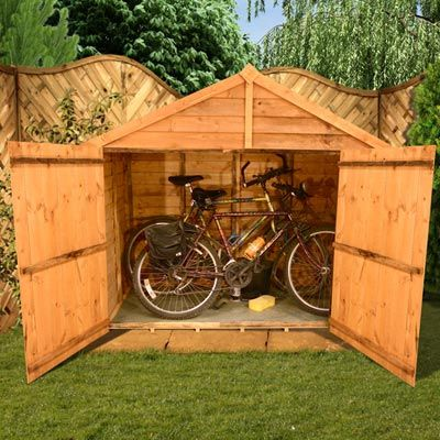 billyoh bike shed 3x6 £124 4x7  £153