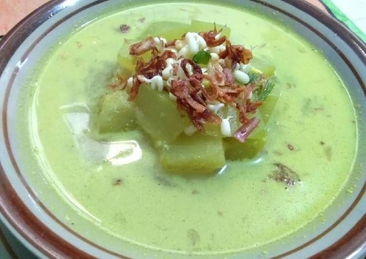 Resep Soto Blonceng Labu Air Oleh Ika Srimuddawamah Resep Labu Makanan Daging Sapi