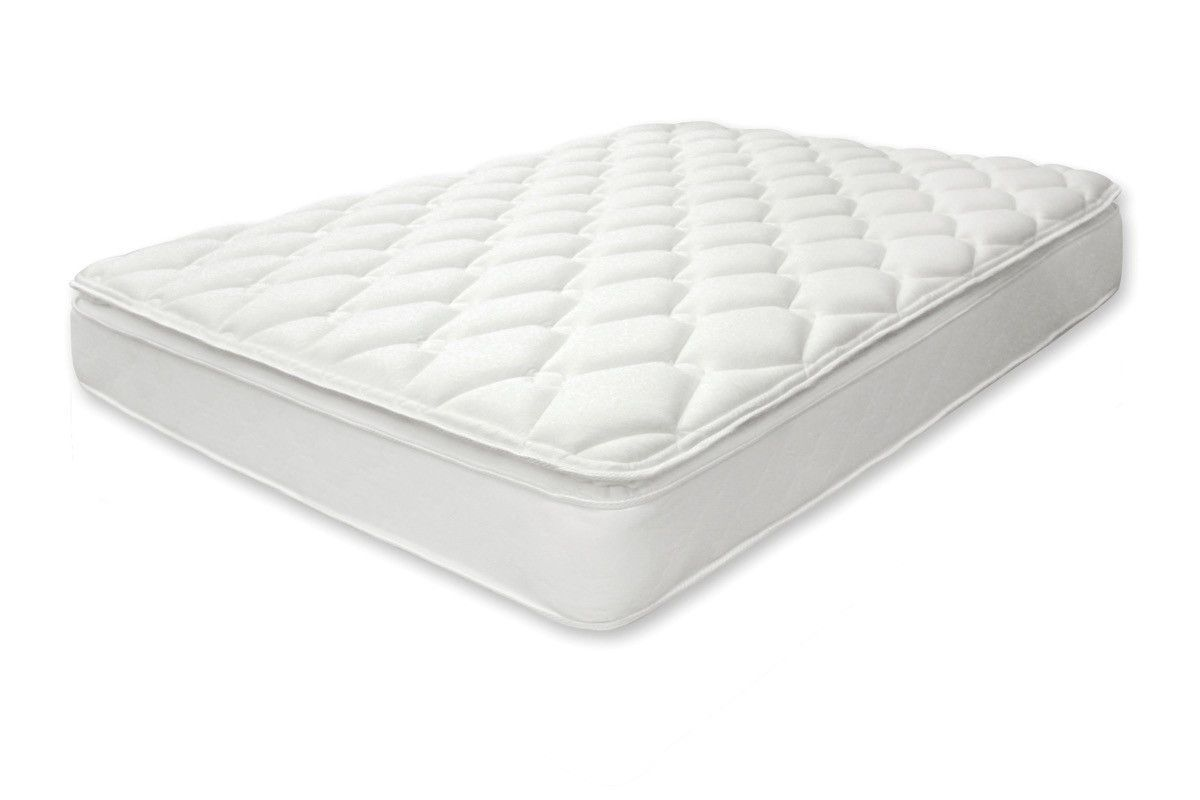 furniture of america carro 115 inch king size pillow top mattress