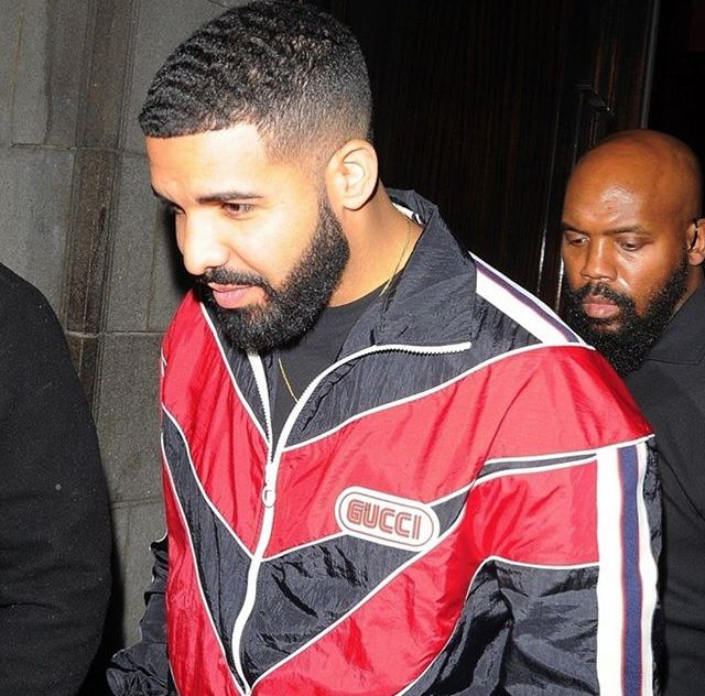 April 10, 2018: Drake in London showing off his waves ...