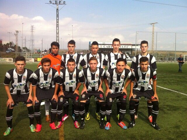 F.C. Cartagena - Juvenil   Nacional - ( Murcia ) España 2014   2015  05.10.2014 aceb888b6b367