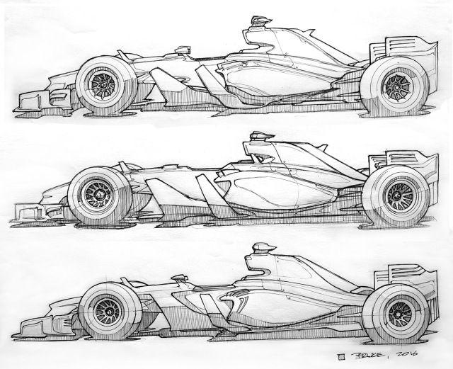 F1 Concepts Car Design Sketch Concept Car Design Car Design
