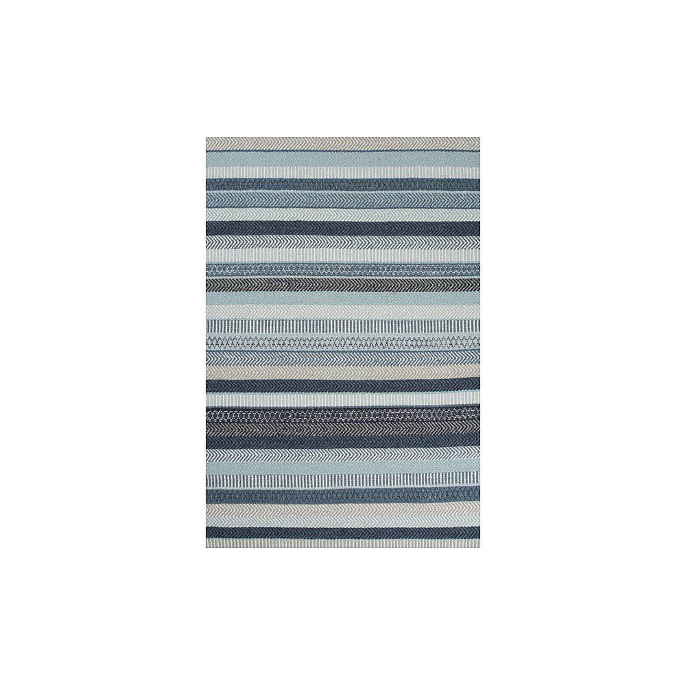 Essentials Mariko Vloerkleed 170 x 240 cm - Blue - Vloerkledenwi