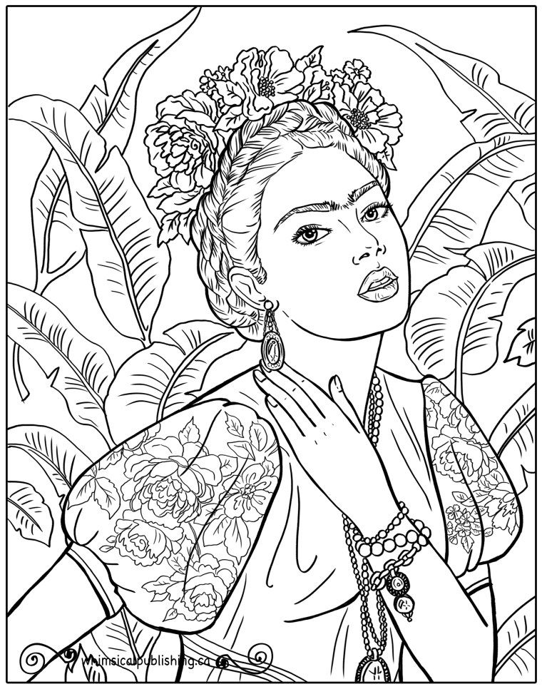 We Are So Glad You Dropped By These Free Colouring Pages Are Created By Whimsical Publishing For You Free Coloring Pages People Coloring Pages Colouring Pages