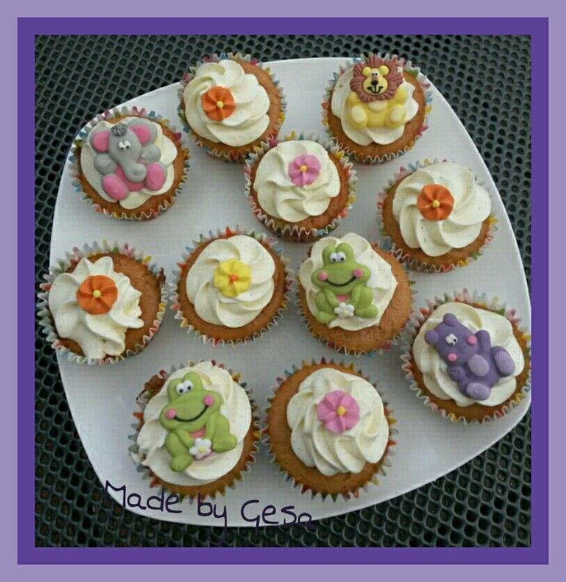Lekkere cupcakes.