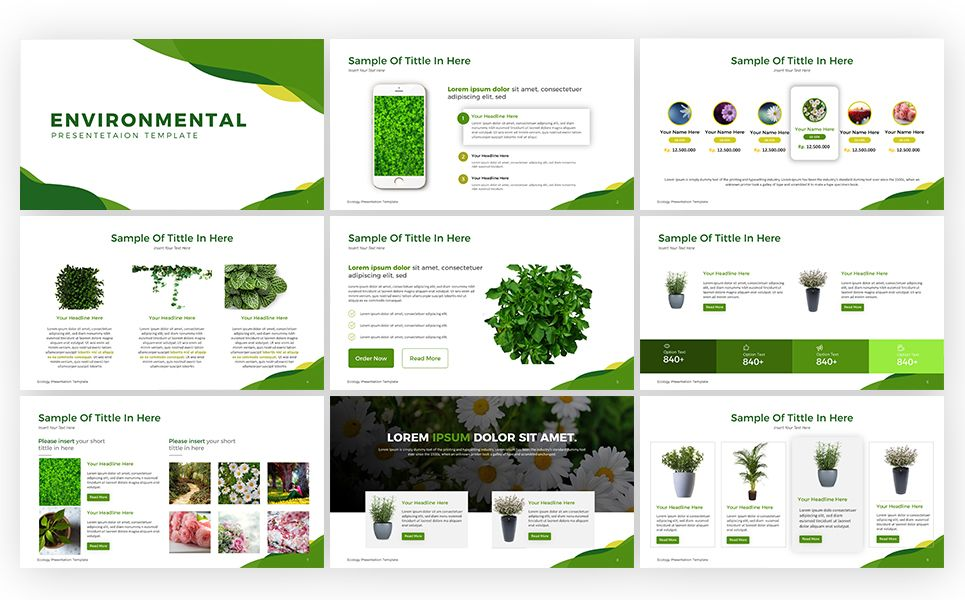 Ecology Presentation Powerpoint Template 69531 Presentation Templates Ecology Design Powerpoint Templates