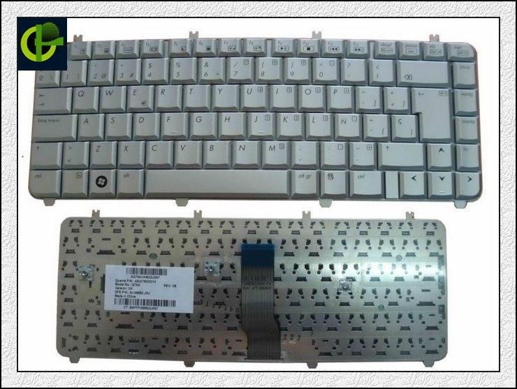 Spanish Keyboard For HP Pavilion dv5 dv5-1000 DV5-1100 DV5-1200 dv5t ...