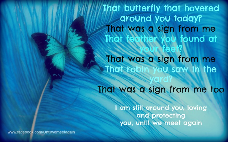 Signs From My Loved One Who Has Passed Away.... Loss