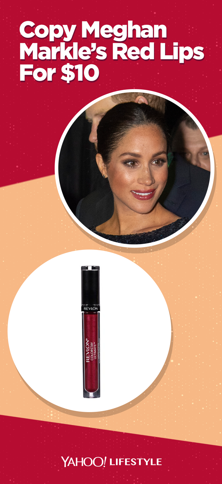 Copy Meghan Markle's berry-red lipstick look for as low as $10 | Shopping |  Red lipstick looks, Berry lipstick, Red lipsticks