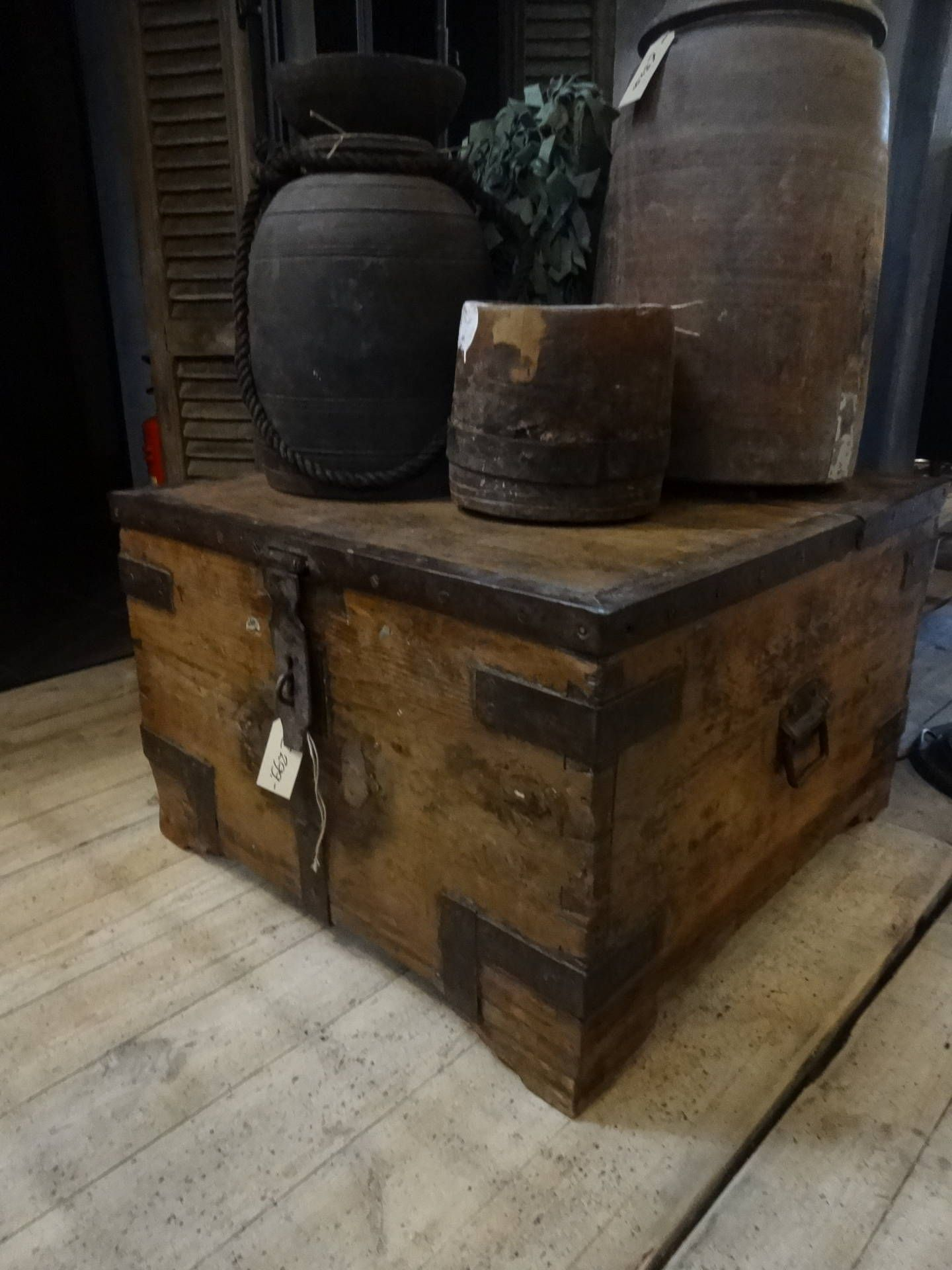 Kist Salon Tafel.Oude Kist Salon Bijzettafel Nr 7015 Afhaalprijs Bezorgkosten Op