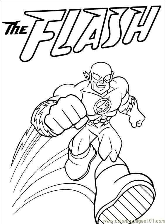 The Flash Coloring Page Free Coloring Pages Superhero Coloring Pages Superhero Coloring Coloring Pages For Kids