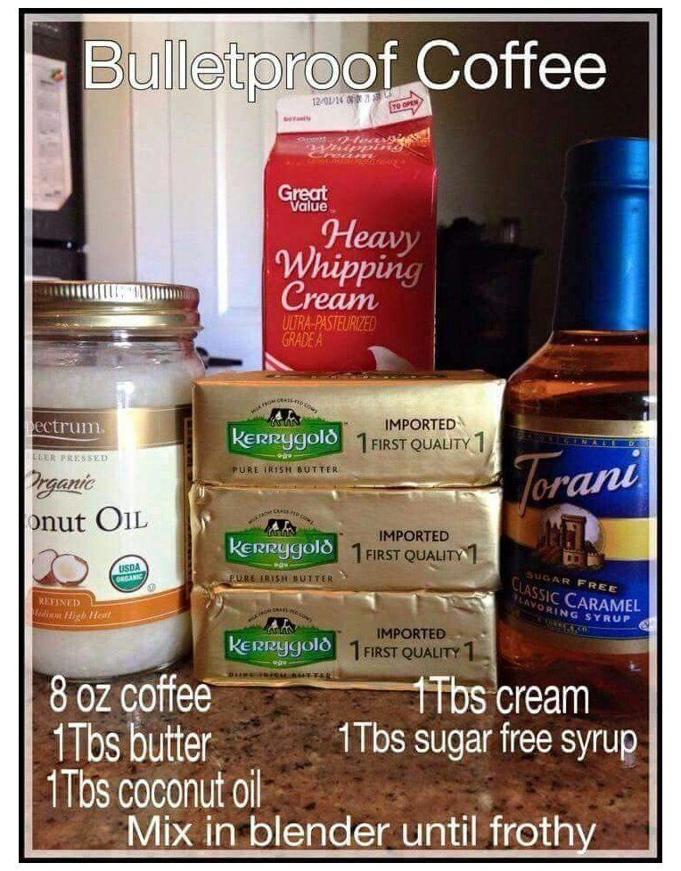 keto meal plan with bullet proof coffee Bullet