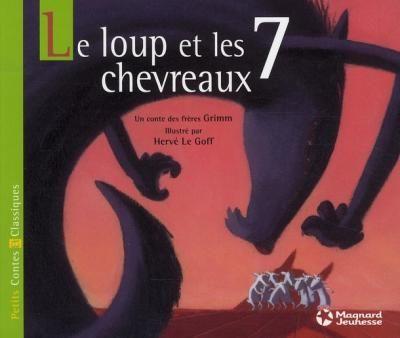 Conte 7 Le Loup Et Les 7 Chevreaux Bad Wolf Wolf