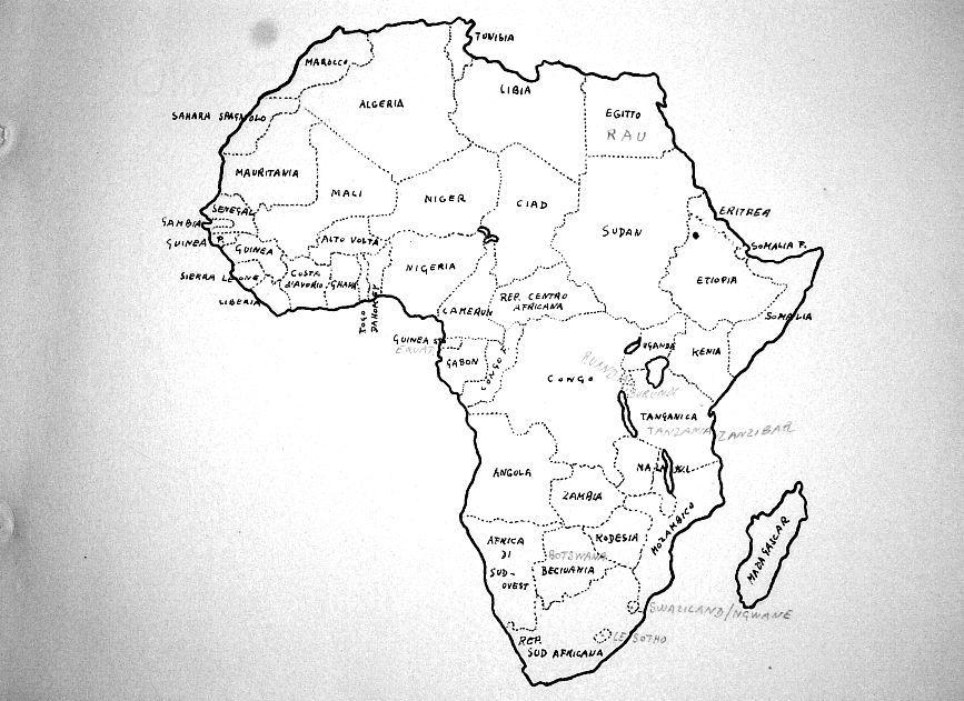 Cartina Dell Africa In Bianco E Nero.Vecchia Carta Geografica Dell Africa Carte Geografiche Vecchie Carte Geografia