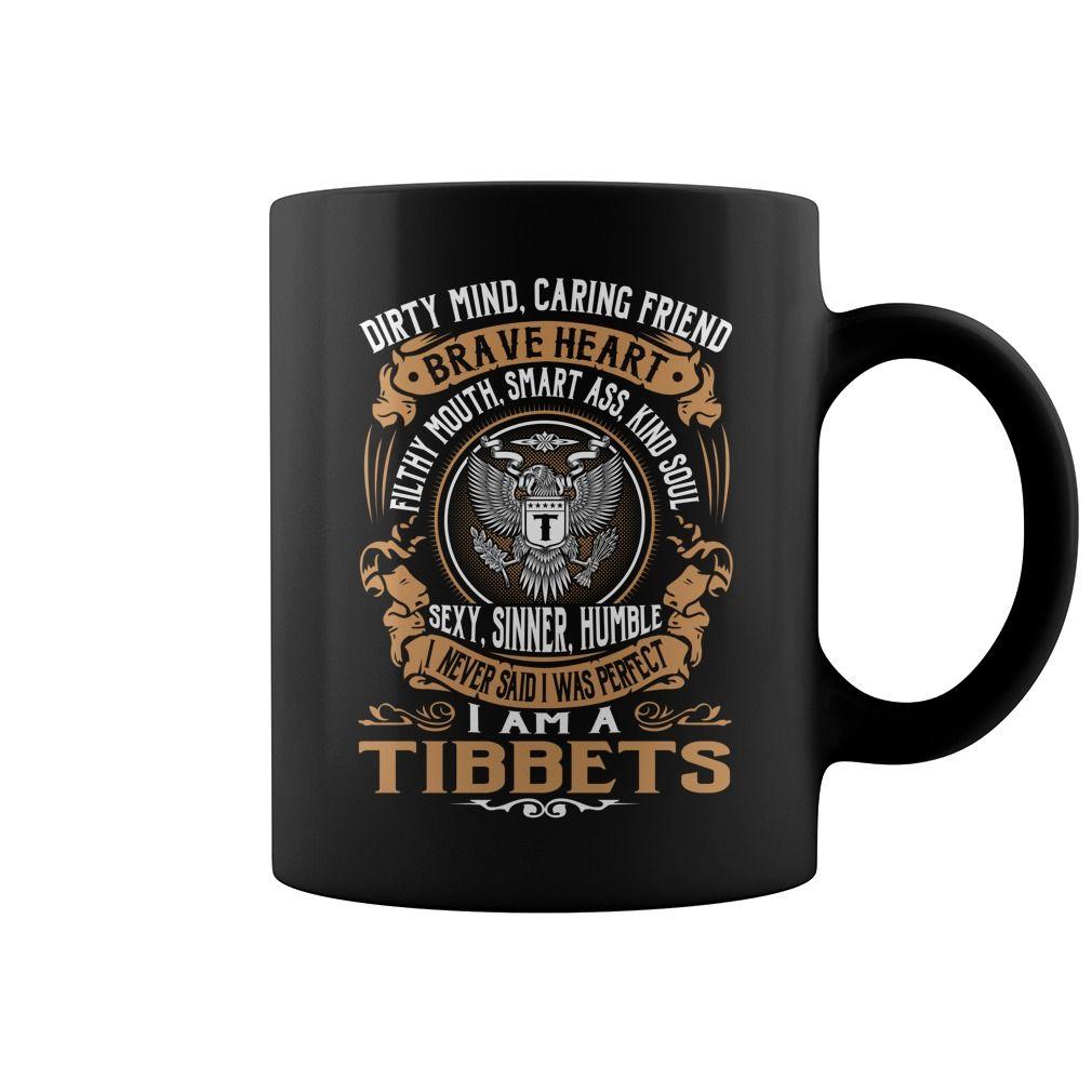 TIBBETS Brave Heart Name Mugs #Tibbets