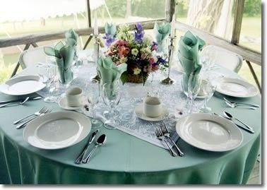 Delightful Alternative To Table Runners? | Weddings, | Wedding Forums | WeddingWire Good Ideas