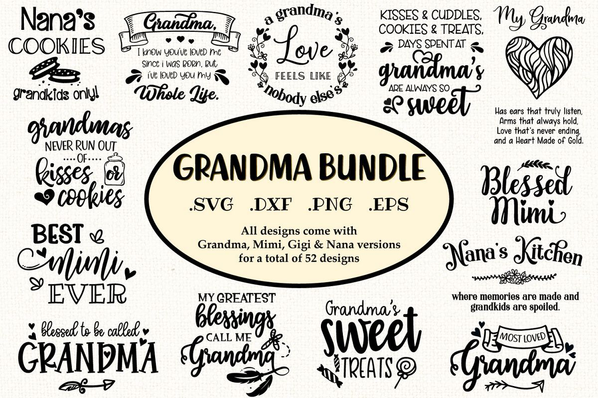 Grandma Svg Bundle Grandmother Quotes And Sayings Ad Grandma Svg Bundle Grandma Quotes Mimi Svg Blessed Mimi Svg B Grandmother Quotes Quotes Ever Quote