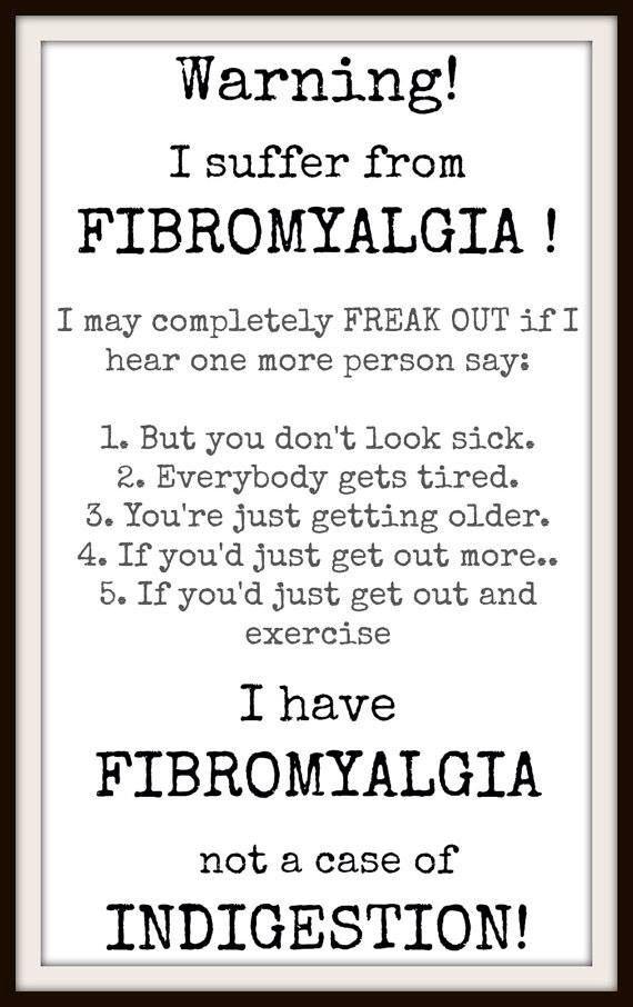 Fibro hell o-O made worse by ppl who are ignorant abt chronic illness, especially invisible illnesses