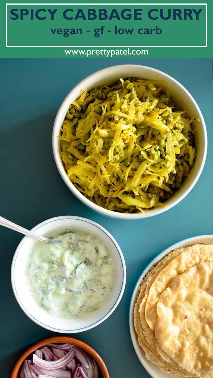 Spicy cabbage pea curry kobi nu shaak cabbage curry gujarati gujarati food forumfinder Images