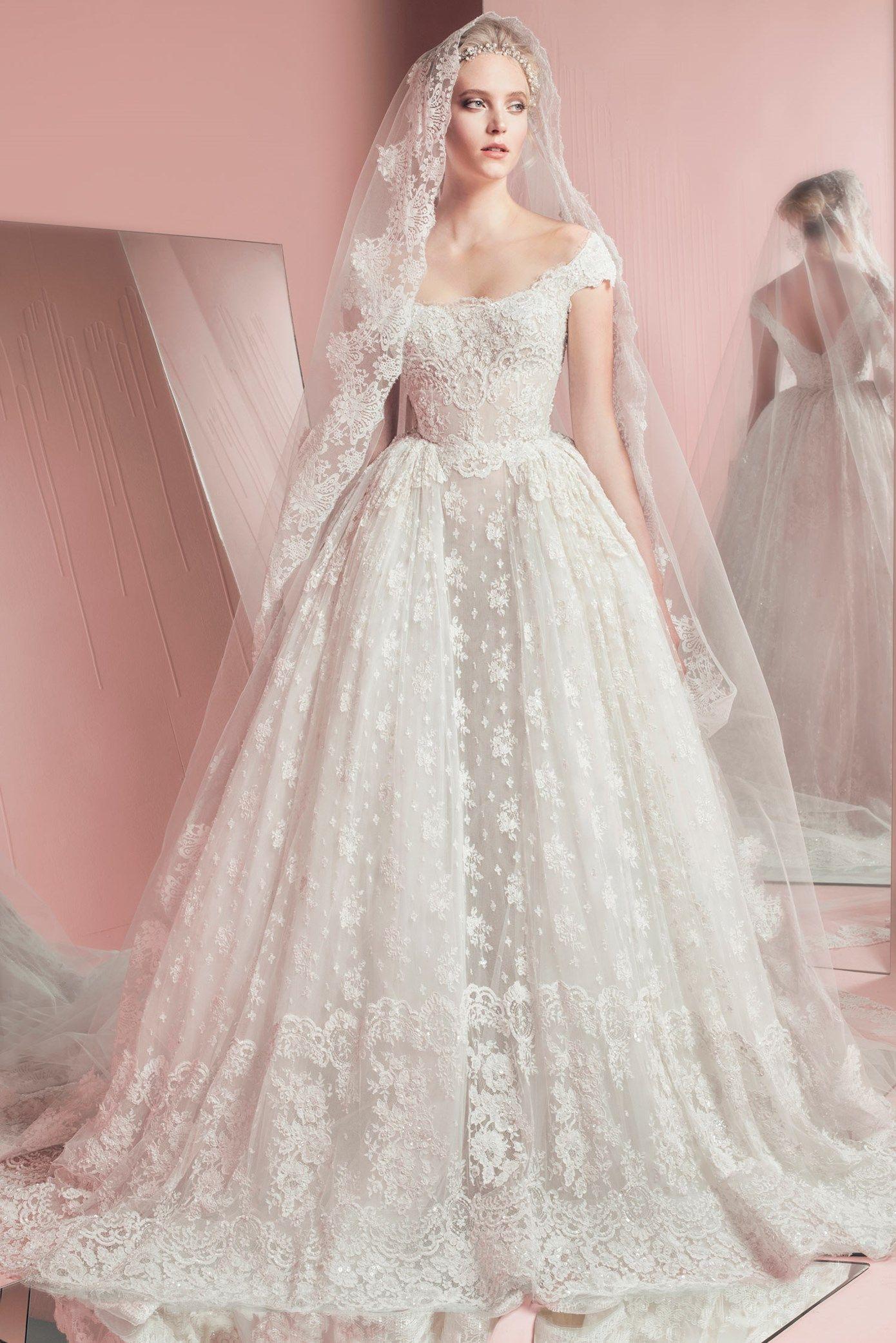 Vestido De Noiva Zuhair Murad Bridal Spring Summer 2016 Peggy