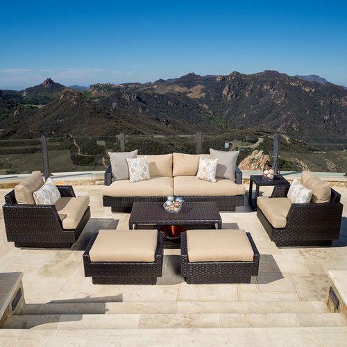 Portofino™ Comfort 7pc Set - Heather Beige | Luxury patio ...
