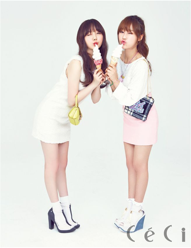 Baby Soul and KEI to CéCi