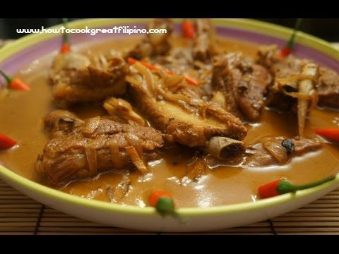 Filipino food pork ribs adobo sa gata recipe tagalog for Adobo filipino cuisine