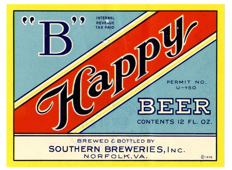 The Art Of Repeal Exploring America S Post Prohibition Beer Labels Vintage Beer Labels Beer Label Beer Label Design