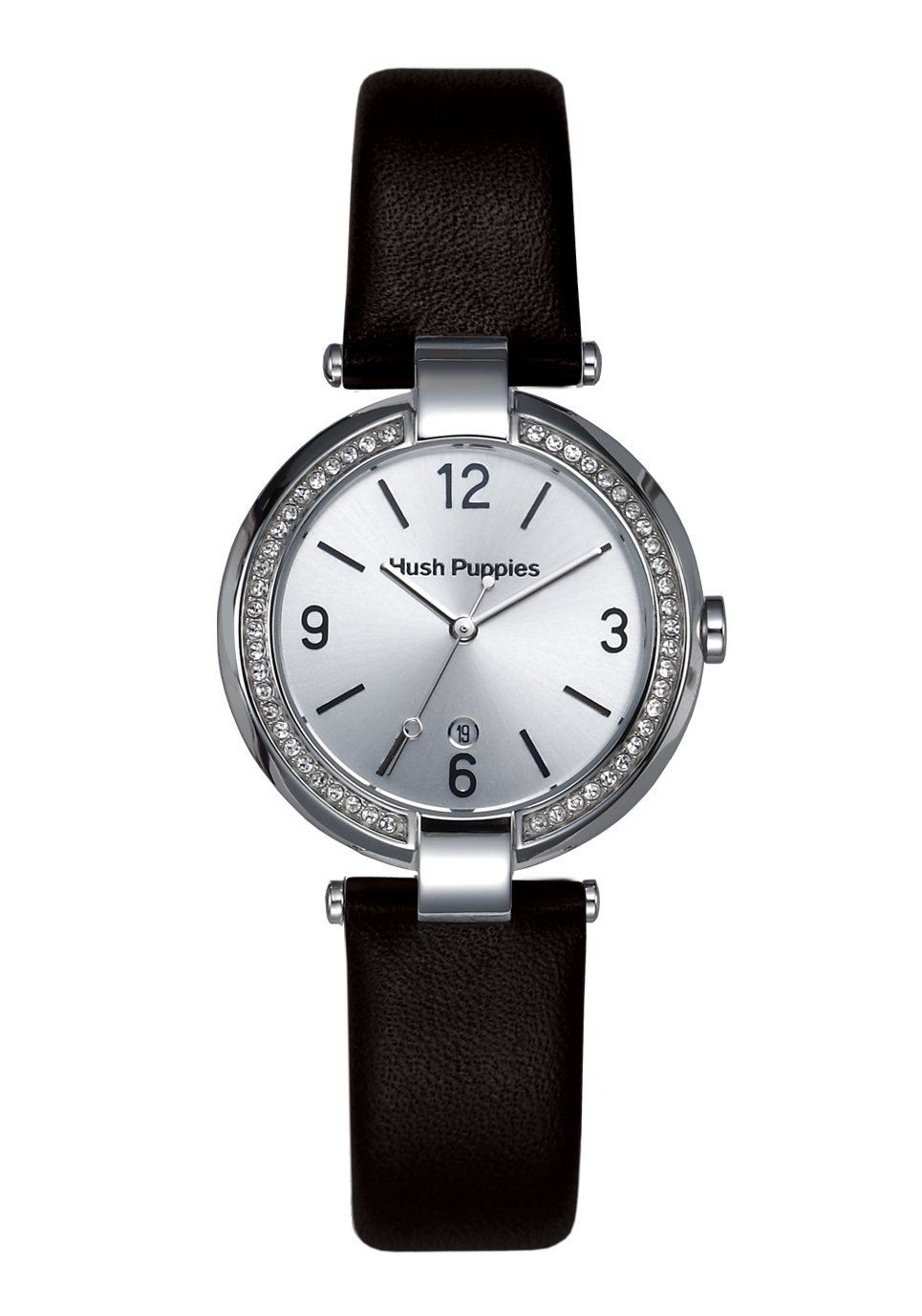 Hush Puppies Orbz Women's Automatic Watch with Silver Dial