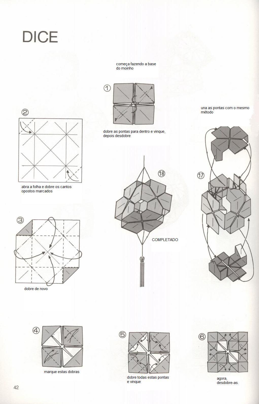 O Que Meu Nosso Origami Dado Dice Makoto Yamaguchi