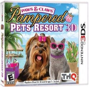 Paws & Claws Pampered Pets Resort 3D 3DS rom