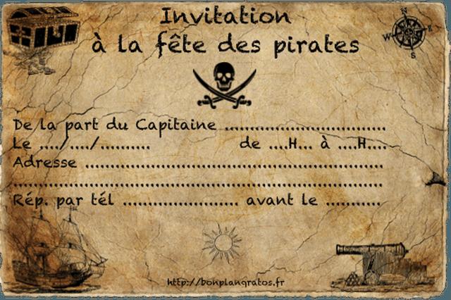carte d invitation gratuite a