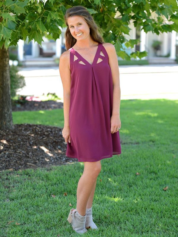 Cut For Confidence Dress