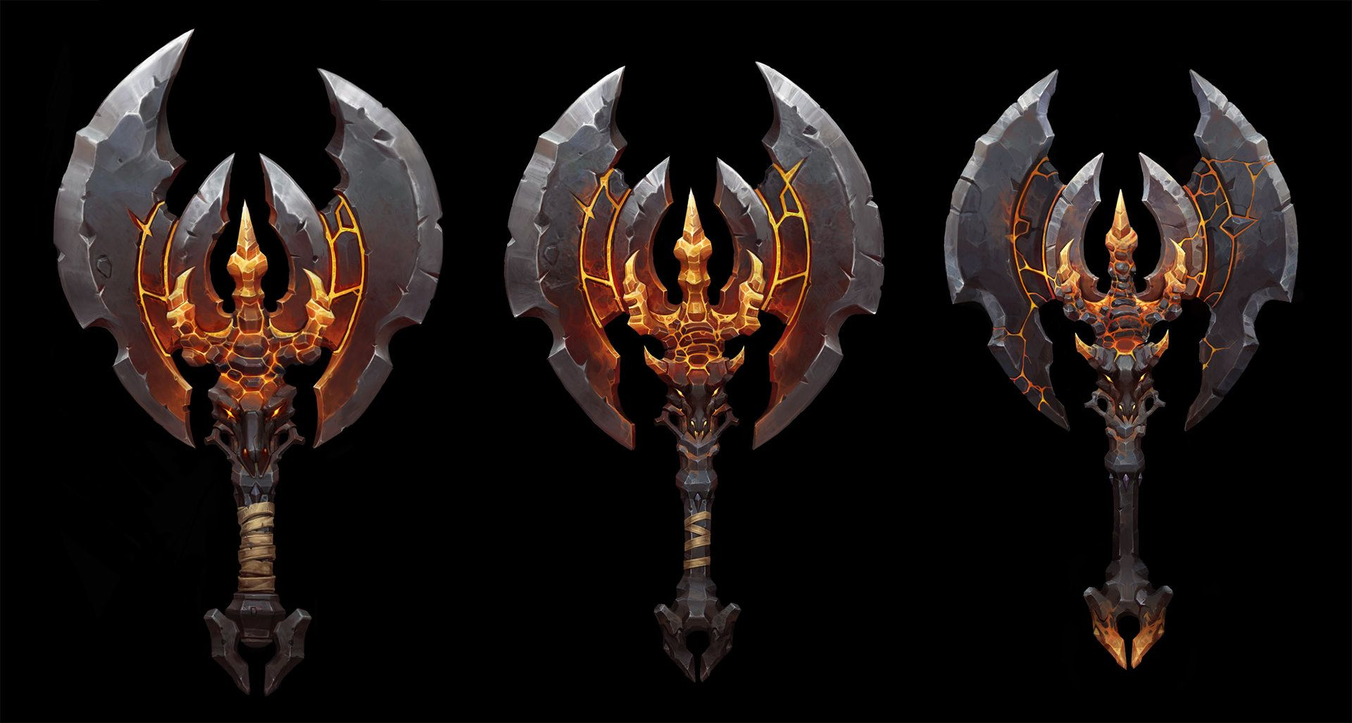 ArtStation - Demon Axe , Betty Jiang