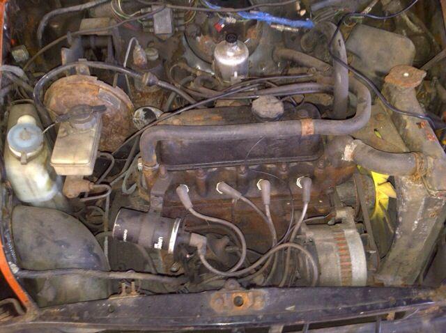 Gross. Standard rusty engine