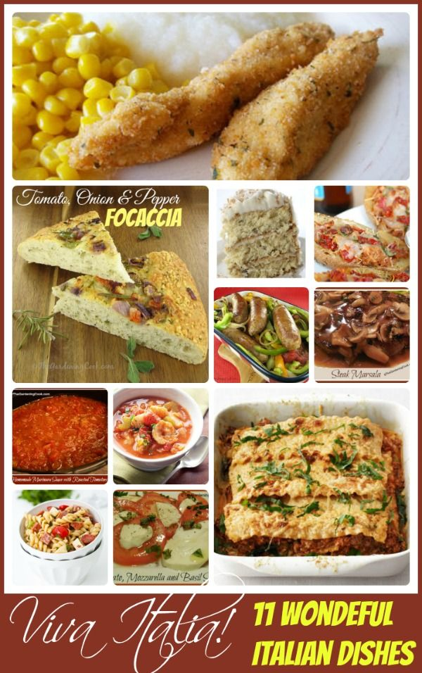 Viva italia favorite italian recipes recipes italian dishes and i am very fond of italian cooking it is hearty and delicious and the recipes are normally fairly easy to do fresh oregano and basil that i have growing on forumfinder Gallery
