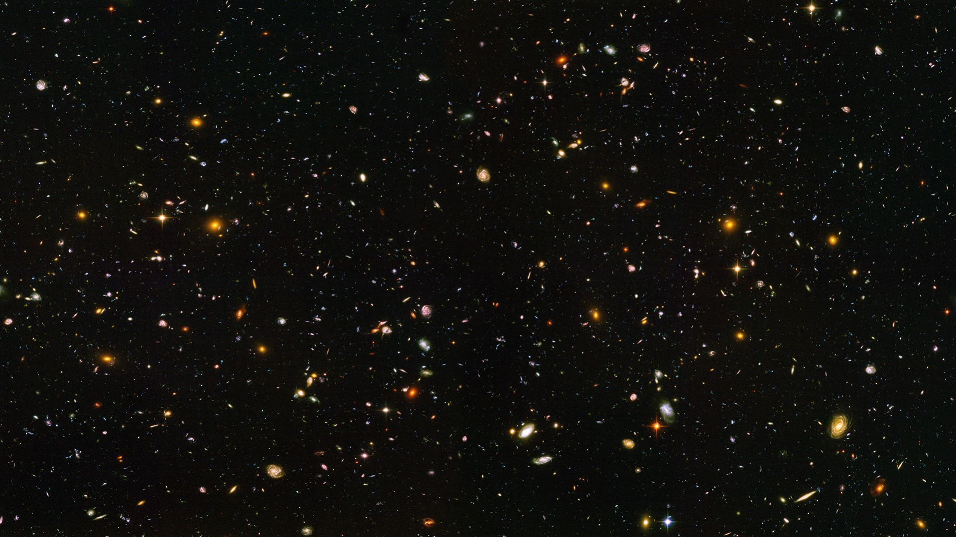 Hubble Ultra Deep Wallpaper 1920x1080