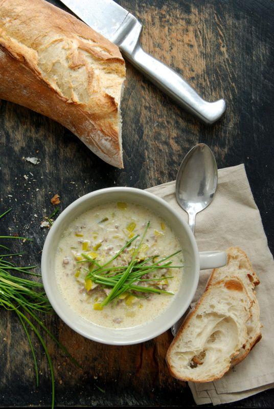 Liebesbotschaft Käse-Lauch-Suppe F O O D \ D R I N K S - käse lauch suppe chefkoch