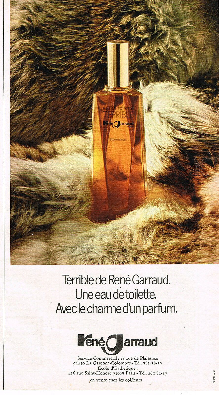 Publicite Advertising 015 1975 Rene Garraud Eau De Toilette Terrible Ebay Eau De Toilette La Garenne Colombes Eau De Toilette Homme