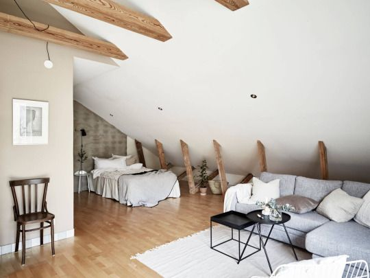 Interior design hd also homes attic studio apartment rh pinterest