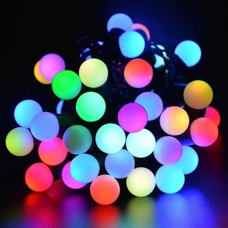 Chian40 led solar automatic charging light string garden wedding 40 led solar automatic charging light string garden wedding christmas outdoor decorations mozeypictures Gallery