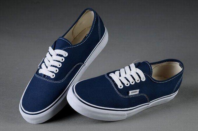 huge discount 7c822 70828 Vans Authentic Classic Navy Blue Womens Shoes  Vans