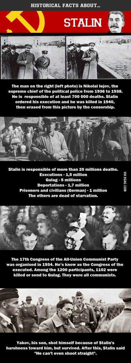 Stalin facts, enjoy ! #historyfacts